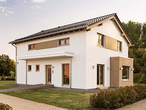 Musterhaus Frankenberg - SENTO 500B - Außenansicht