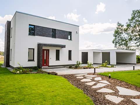 Musterhaus Ludwigsfelde SH 521 - Außenansicht