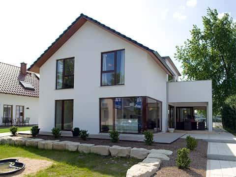 Musterhaus Fellbach - Außenansicht