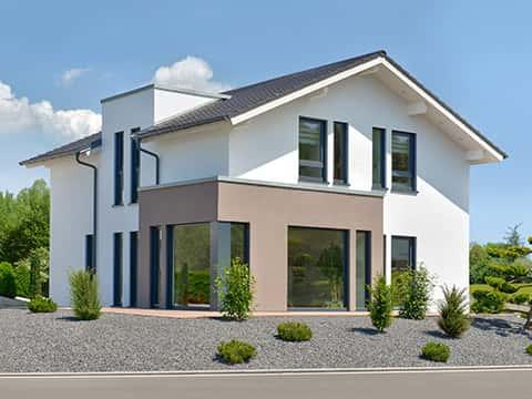 Musterhaus SUNSHINE 144 Bad Vilbel - Außenansicht