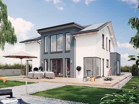 Musterhaus SUNSHINE 154 Chemnitz - Außenansicht