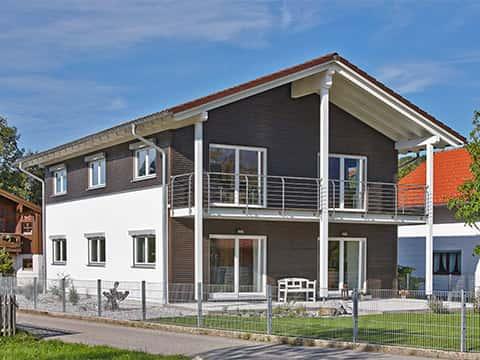 Musterhaus Traunstein - Außenansicht