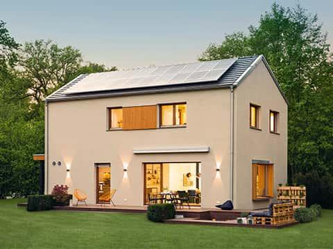 Musterhaus Sunshine 220 - Außenansicht