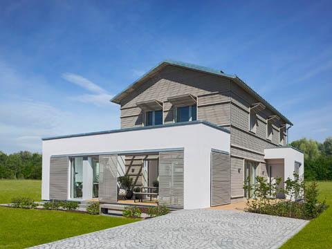 Musterhaus NaturDesign - Außenansicht