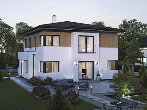 Musterhaus ELK 161 - Außenansicht