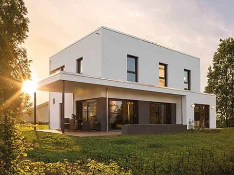 Musterhaus MAXIM Gießen - Aussenansicht
