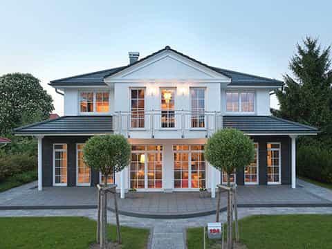 Musterhaus Falkensee - Aussenansicht