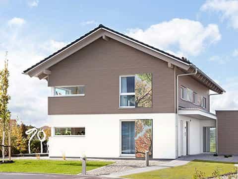 Musterhaus Günzburg - Aussenansicht