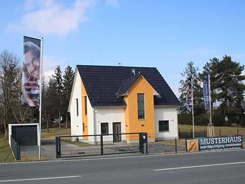 Musterhaus Bautzen - Aussenansicht
